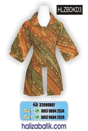 grosir batik pekalongan, Gambar Seragam, Baju Blus Terbaru, Model Blus Batik