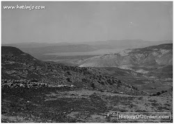 أم قيس وتظهر بحيرة طبريا ، في نهاية العشرينات من القرن الماضي