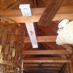 Attic Storage and Air Conditioned Insulated Closet
