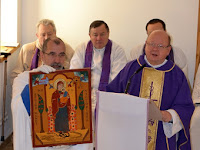 02  A szentmise főcelebránsa a váci premontrei József atya volt.JPG