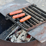 sausages time in Calgary, Alberta, Canada