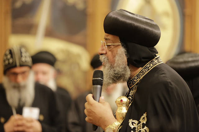 His Holiness Pope Tawadros II visit to St. Mark LA - _09A9139.JPG