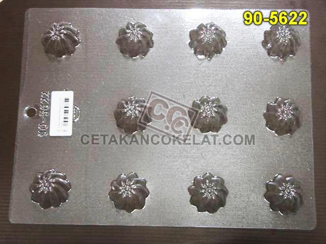Cetakan Coklat 90-5622 praline cokelat praline