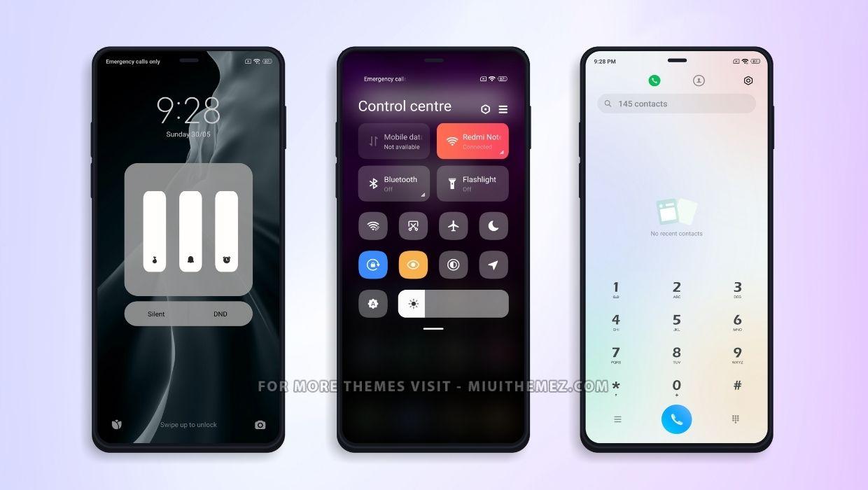 Mi Dark Theme for Xiaomi Devices