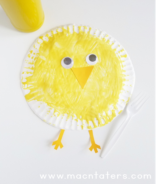 Fork Painted Chick