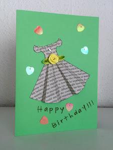 Was soll man in einer Geburtstagskarte für jemanden schreiben, den man gerade datiert hat