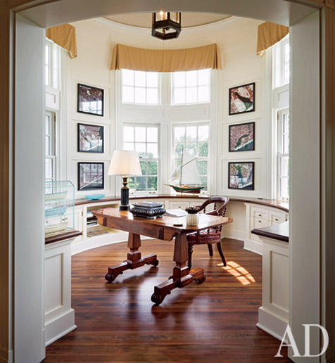 Mix and chic high style home office design inspirations Custom home office design ideas