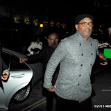 WWW.ENTSIMAGES.COM - Samuel L Jackson arriving  at  Django Unchained - UK film premiere after Party at Aqua Club ,London January 10th 2013 Photo Mobis Photos/OIC 0203 174 1069