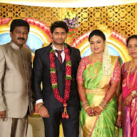Celebrities Attended Journalist Raghavender Daughter Marriage