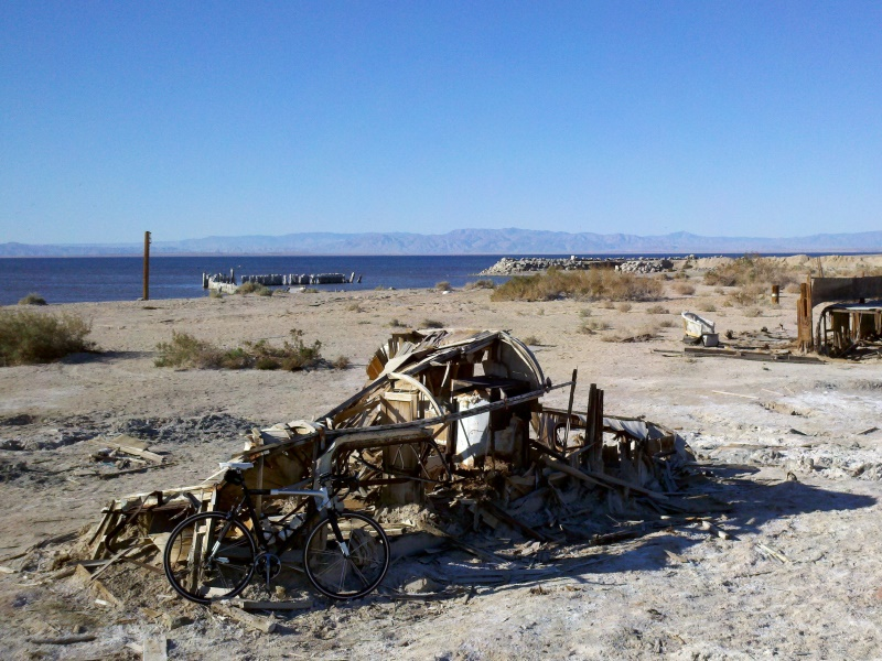 Salton Sea Circumnavigation • Bombay Beach