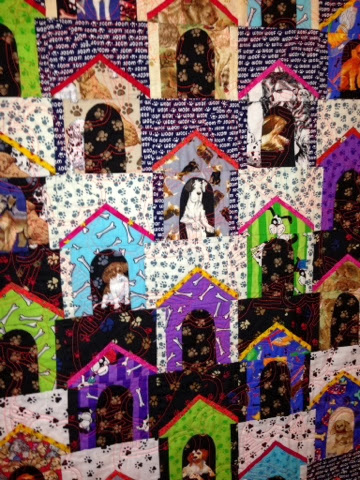 dog house quilt