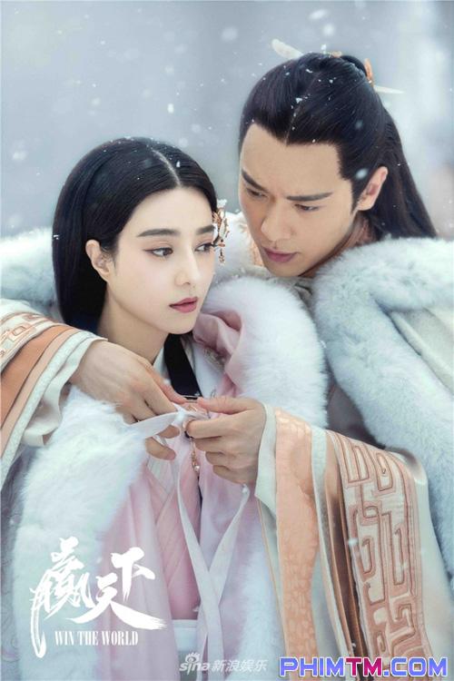 Ba Thanh (Phạm Băng Băng) gây tranh cãi vì nụ hôn với Tần Vương trong Thắng Thiên Hạ - Ảnh 3.