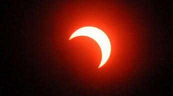 金環日食後