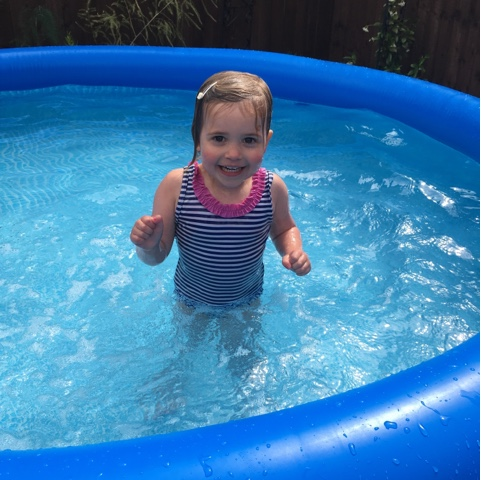 go swimming -  things to do in the summer holidays
