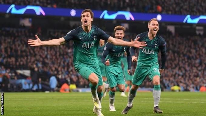 [Goals Highlight] Manchester City 4 – 3 Tottenham (Watch Here)