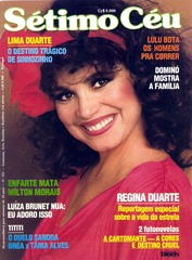 revista setimo ceu regina duarte 1985