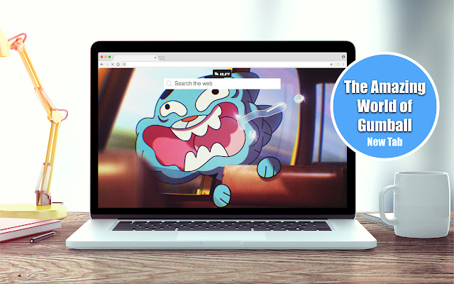 The Amazing World of Gumball New Tab Theme