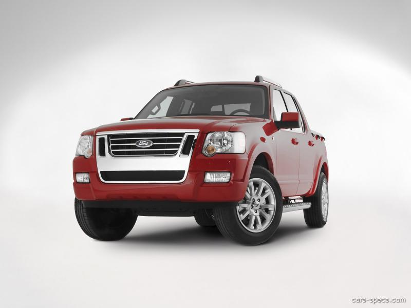 2008 ford explorer sport trac crew cab specifications pictures prices. Black Bedroom Furniture Sets. Home Design Ideas