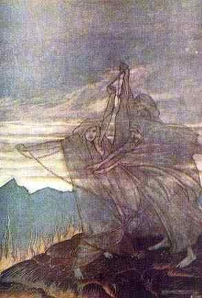 The Norns, Asatru Gods And Heroes