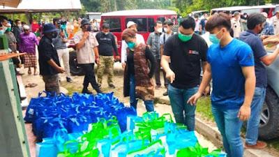 TLCI Chapter #2 Riau Kembali Berkiprah, Gelar Bakti Sosial di Desa Siabu