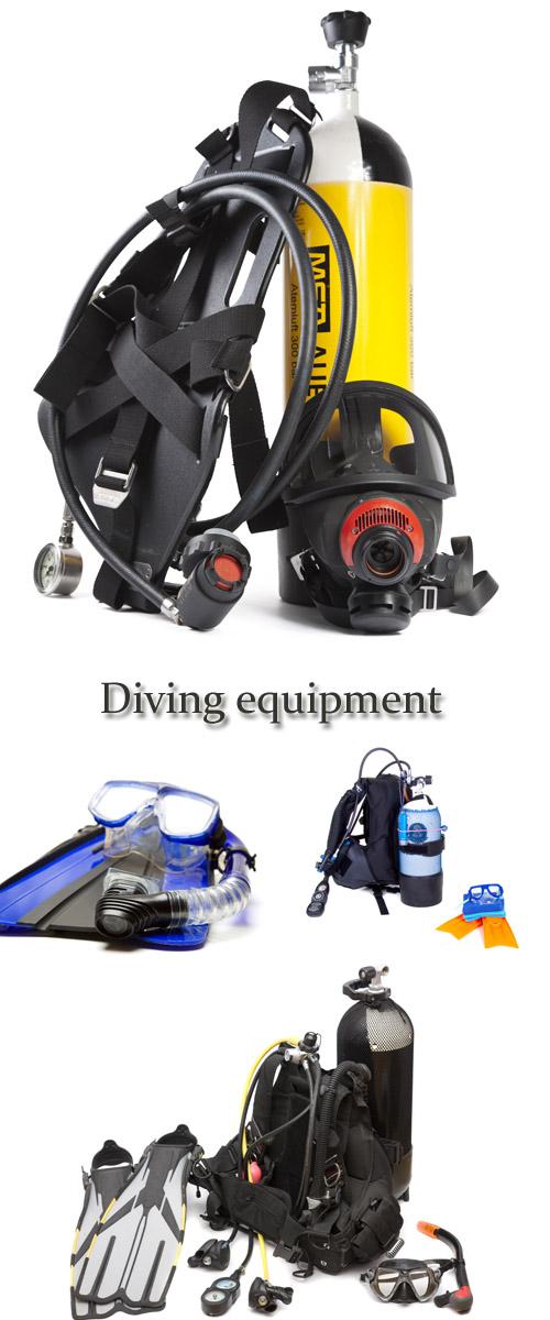 Stock Photo: Diving equipment
