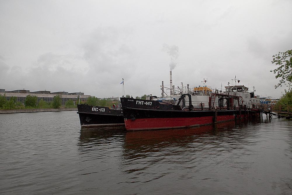 Как чистят Москву реку