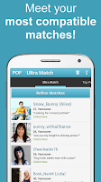Screenshot of POF Free Dating App