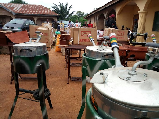 Hon Regina Anyogo empowers constituents with entrepreneurial kits