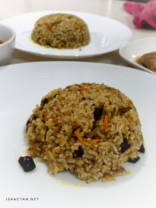 RTE Dry Chili With Minced Chicken Fried Rice