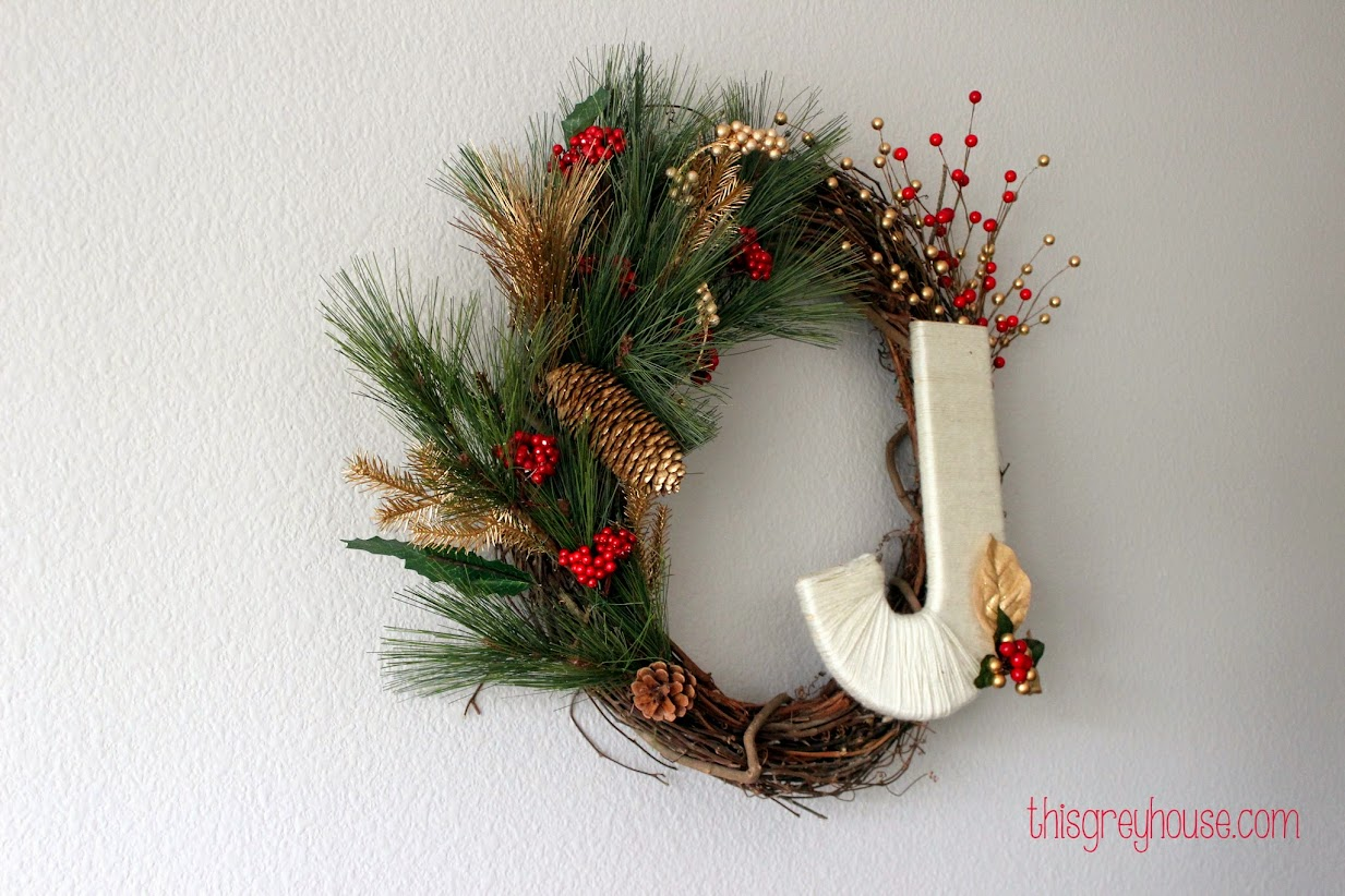 Christmas Wreath by This Grey House