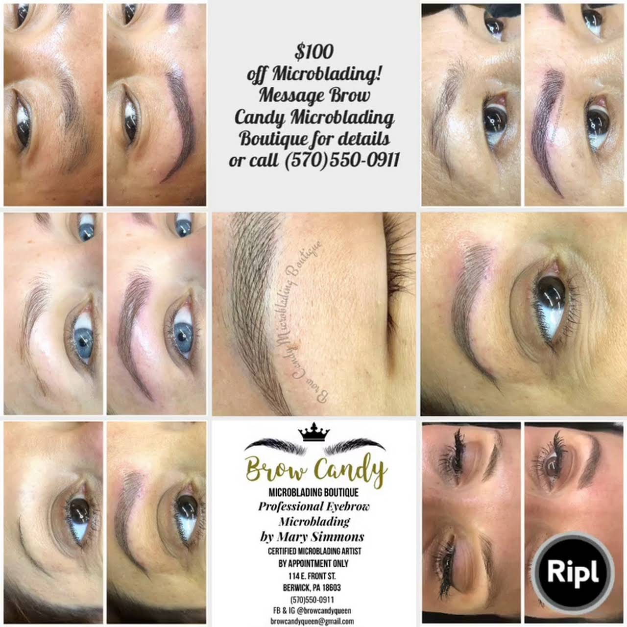 Brow Candy Microblading Boutique - Permanent Make-Up Clinic