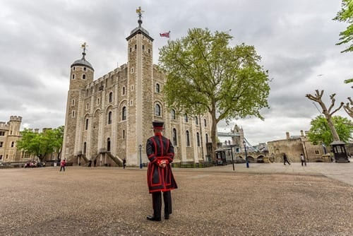 Two Day London Itinerary - White Tower and Beefeater London