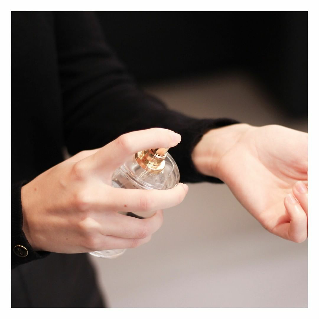 existe uma regra para se perfumar