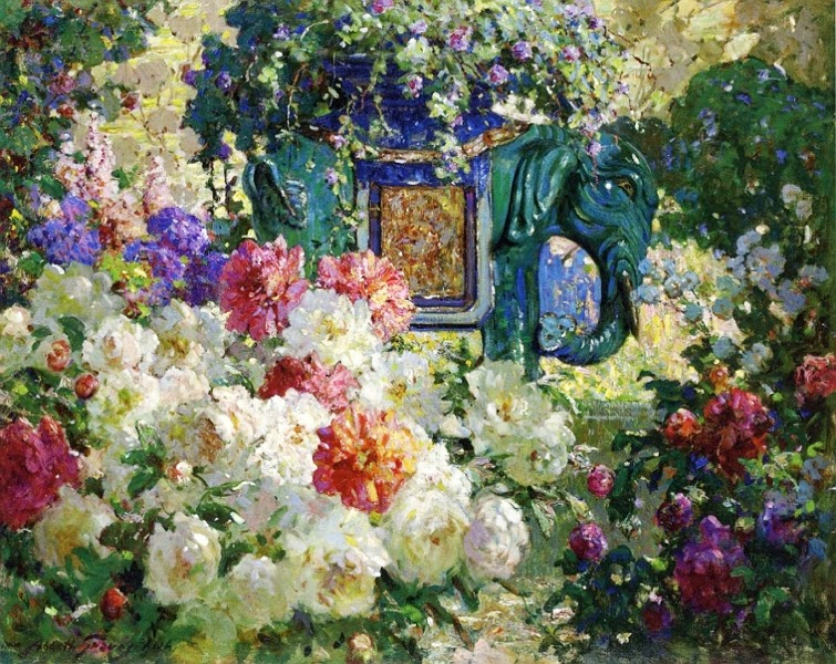 Abbott Fuller Graves - In My Wifes Garden