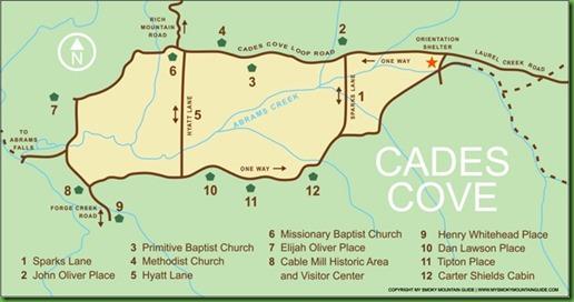 Cades-Cove-Map