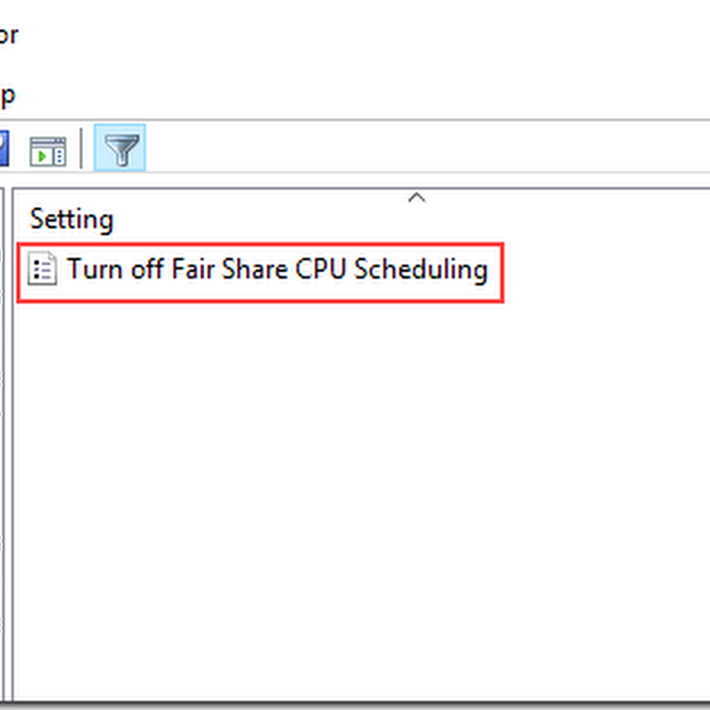 Resource Sharing in Server2016 RDSH