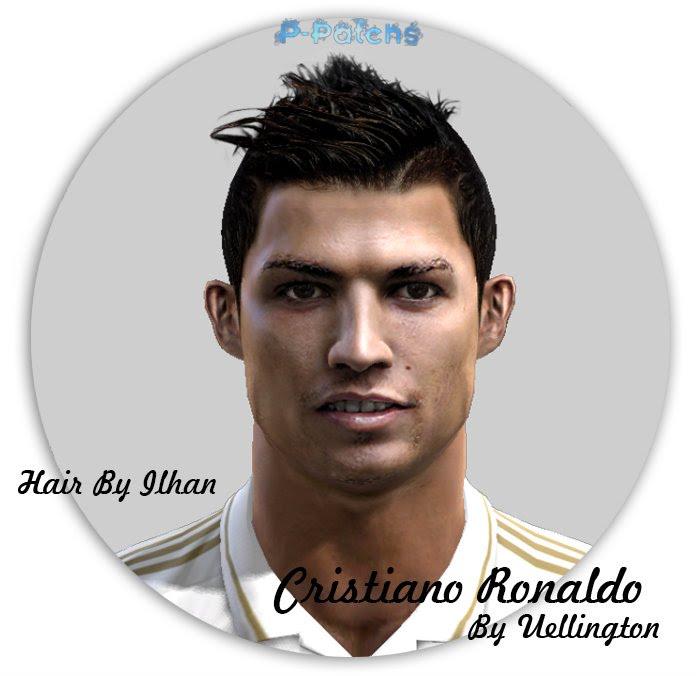 Cristiano Ronaldo Face - PES 2012