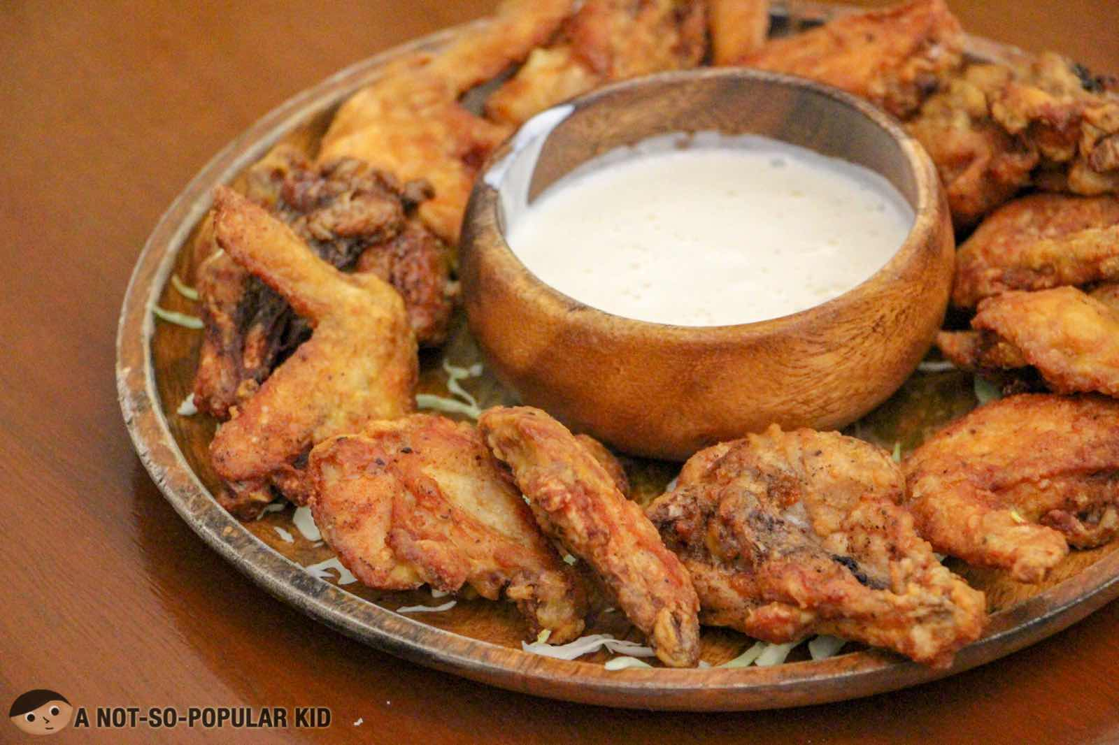 Spicy Bastard Chicken Wings of Kite Kebab Bar