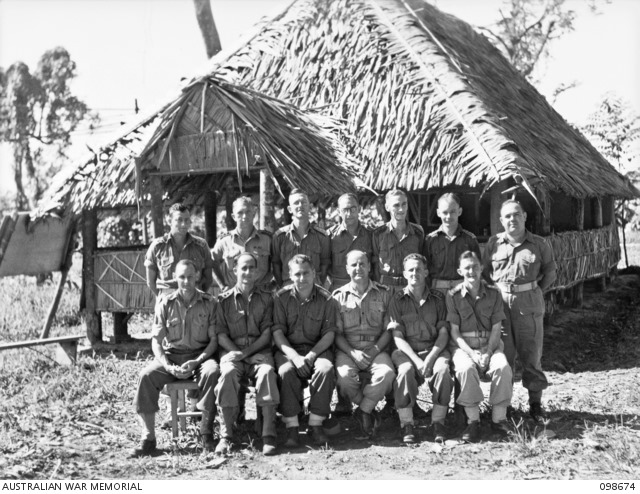 [098674+AWM++TOROKINA%2C+BOUGAINVILLE.+1945-11-09.+A+GROUP+OF+ANGLICAN+CHAPLAINS+OUTSIDE+THE+PATTISON+CHAPEL%2C+HEADQUARTERS+3+DIVISION%5B3%5D]