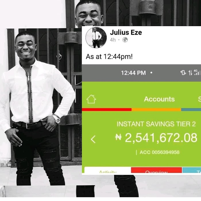 Nigerian Man Returns N2.5m mistakenly sent to his account.