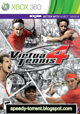 Virtua Tennis 4 XBOX 360 torrent