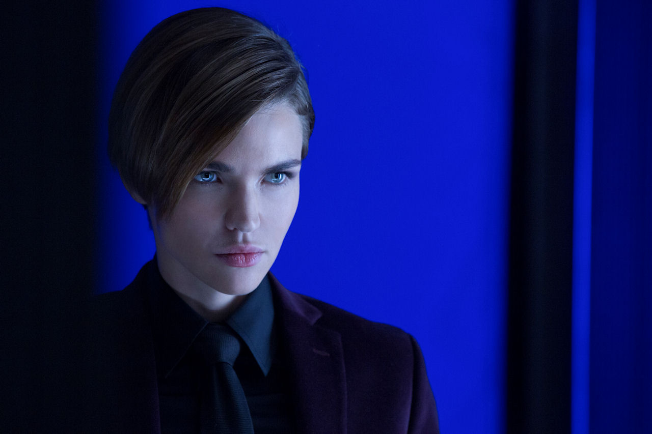 Ruby Rose stars as 'Ares'  in JOHN WICK: CHAPTER 2. (Photo by Niko Tavernise / courtesy of Lionsgate).