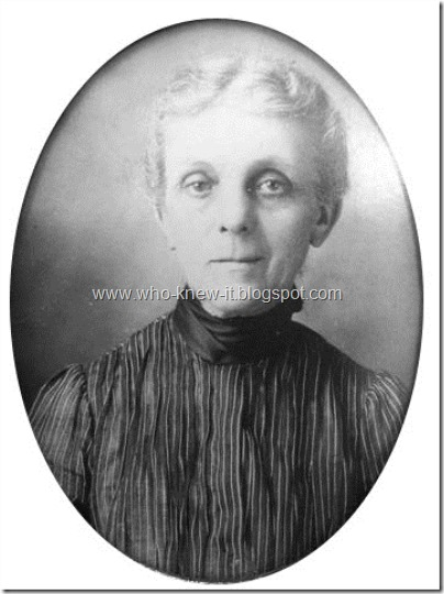 Rebecca Moriah Waller 1920