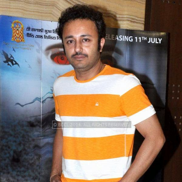 Joyjit Banerjee during the premiere and after party of the film Maya, in Kolkata.