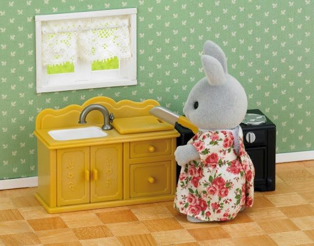 Bộ Bàn bếp chậu rửa Kitchen Set giúp khám phá thêm nhiều điều bổ ích