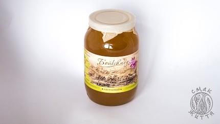 Бойків мед (квітковий, збір 2018р)