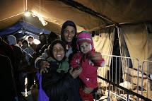 Mohammad, Zahra a Sahdi utekli z iráckého Mosulu, který ovládá takzvaný Islámský stát. (Foto: Petr Štefan, ČvT)
