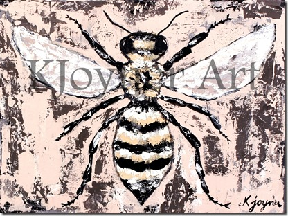 KJoyner Art Bee Painting Creative Ambitions