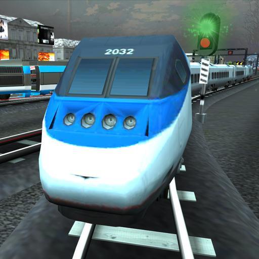 3D Train Rush Simulator