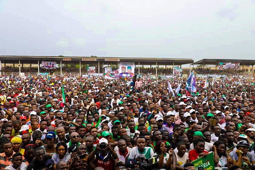 PHOTOS: Atiku, Saraki, Ekweremadu, storm Owerri for PDP South-East Presidential rally